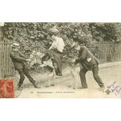 95 MONTMORENCY. L'Ane récalcitrant 1908