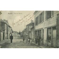 95 GARGES LES GONESSES. Rue des Menées 1915