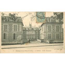 93 AULNAY-SOUS-BOIS. Grille d'Honneur du Château 1905