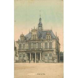 62 BRUAY. Hôtel de Ville vers 1915