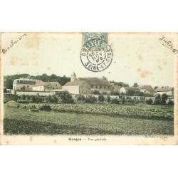 2 x cpa 95 GARGES LES GONESSES. Vue générale et Rivière le Groult 1905