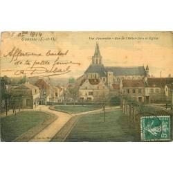 95 GONESSE. Rue Hôtel Dieu et Eglise 1914