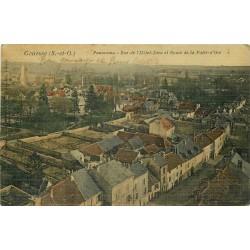 95 GONESSE. Rue Hôtel-Dieu et Route de la Patte d'Oie 1914