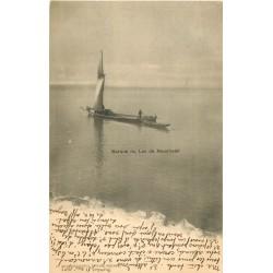 Lac de Neuchâtel. Pêcheur en Barque 1902