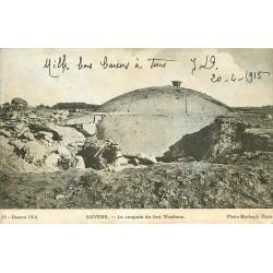 ANVERS. La coupole du Fort Waehem 1915