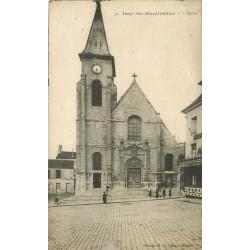 92 ISSY-LES-MOULINEAUX. L'Eglise et le Tabac
