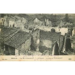 54 VITRIMONT. Vue sur le Village bombardé 1915