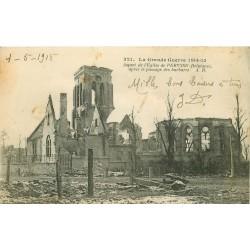 Belgique. PERVYSE. L'Eglise pendant la Guerre 1915