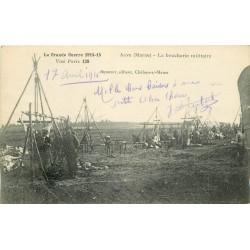 51 AUVE. La Boucherie militaire 1916