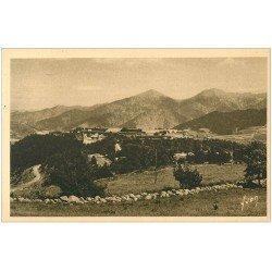 carte postale ancienne 66 MONT-LOUIS. Vue générale