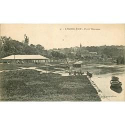 16 ANGOULEME. Port d'Houmeau vers 1918