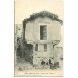carte postale ancienne 66 PALALDA. Vieille Maison animation