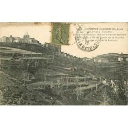 43 SAINT-PRIVAT D'ALLIER. Village pour une Cure d'air 1918
