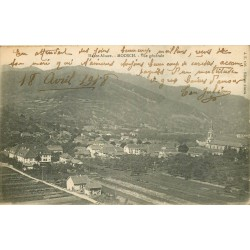 68 MOOSCH. Vue sur le Village 1918