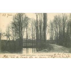 51 SOMME VESLE. Pont et Abreuvoir 1918