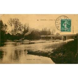 95 MERIEL. L'Oise au Pont 1913