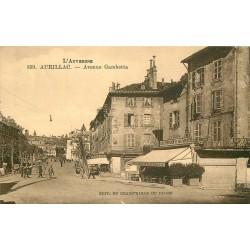 15 AURILLAC. Café Parisien et des Sports Avenue Gambetta