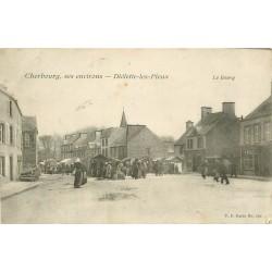 50 DIELETTE-LES-PIEUX. Le Bourg Jour de Marché 1907