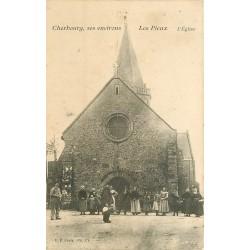 50 LES PIEUX. L'Eglise belle animation