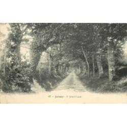 JERSEY. Saint John's Lane au Royaume-Uni