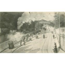 29 BREST. Train en Gare à l'Avancée de la Porte de Foy