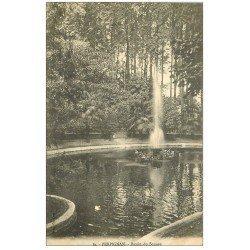 carte postale ancienne 66 PERPIGNAN. Bassin du Square 1912