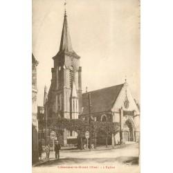 60 CREVECOEUR-LE-GRAND. L'Eglise 1941