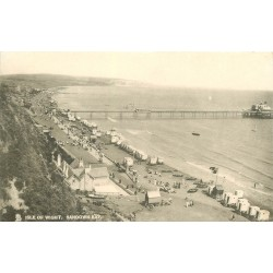 Isle of Wight. SANDOWN BAY