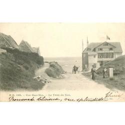 62 CAP GRIS-NEZ. Le Trou du Nez avec Hôtel de la Sirène 1904