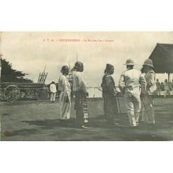 Viêt-Nam COCHINCHINE. Le Roi des Lus à Saïgon