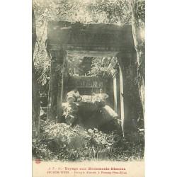 Cambodge ANGKOR-THOM. Péristyle d'entrée à Ponteay-Prea-Khan Monuments Khmers