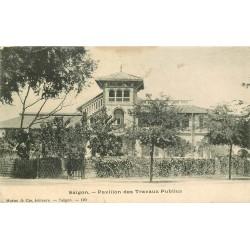 Viêt-Nam. SAIGON. Pavillon des Travaux Publics