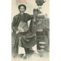 Cochinchine. VIÊT-NAM. Notable indigène