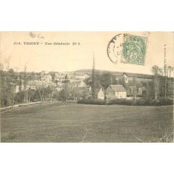 58 TEIGNY. Vue sur le Village 1907