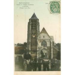 95 BESSANCOURT. Eglise et ancien Cimetière vers 1906