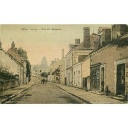 36 CLION. Hôtel du Commerce rue de l'Hospice 1917