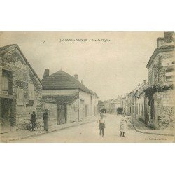 51 JALONS-LES-VIGNES. Rue de l'Eglise 1918