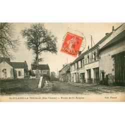 87 SAINT-HILAIRE-LA-TREILLE. Route de Saint-Sulpice 1928