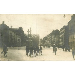 Suisse LA CHAUX-DE-FONDS. Rue Léopold Robert 1927