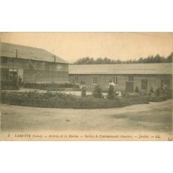 42 LORETTE. Aciéries de la Marine Jardins service de Cantonnements Ouvriers 1917