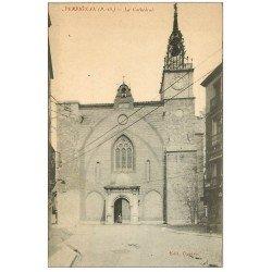 carte postale ancienne 66 PERPIGNAN. La Cathédrale
