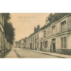 59 DOUAI. Maisons bombardées rue François Cuvelle