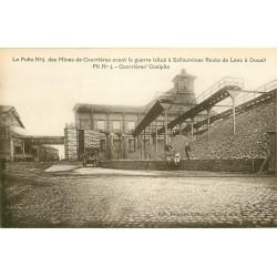 62 COURRIERES. Puits n° 4 des Mines avant la guerre situé à Sallaumines