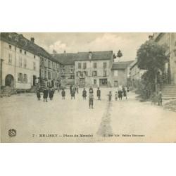 70 MELIZEY. Nombreux enfants Place du Marché 1917