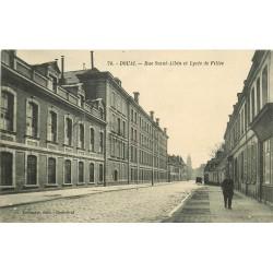 59 DOUAI. Lycée de Filles rue Saint-Albin