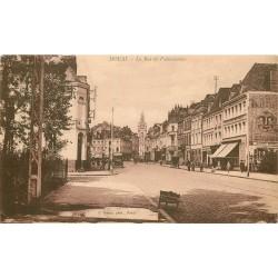 59 DOUAI. Rue de Valenciennes Banque Société Générale