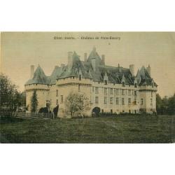 36 CLION. Château de l'Isle-Savary.