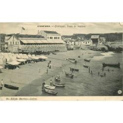 CASCAES. Praia de banhos 1912 au Portugal