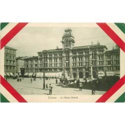TRIESTE. La Piazza Grande 1916