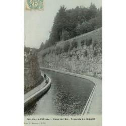 88 FONTENOY-LE-CHATEAU. Tranchée du Coquelet Canal de l'Est 1906